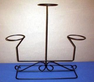 Newly listed Multi Hat or item Display iron Rack stand Millinery