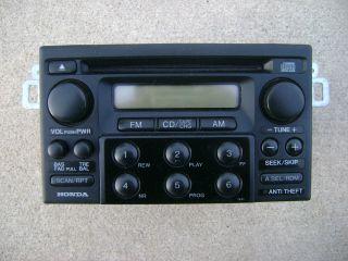 00 HONDA ACCORD 6 DISC CD PLAYER RADIO AM FM