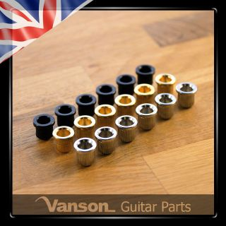 NEW High Quality Vintage Guitar Ferrules / mounting / string