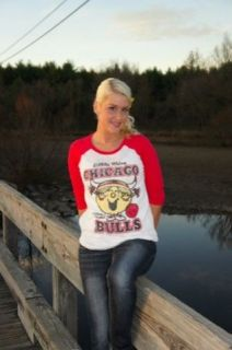 New Junk Food NBA Little Miss Sunshine Chicago Bulls Ladies Thermal