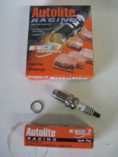Autolite AR3910X Racing Spark Plug Set(8) 14mm 5/8 hex