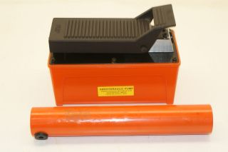 NEW COMBO HYDRAULIC CYLINDER PUMP AND AIR HYDRAULIC FOOT PUMP PRO JACK