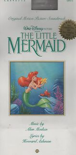 The Little Mermaid [Original Soundtrack] by Alan Menken (Cassette, Jun