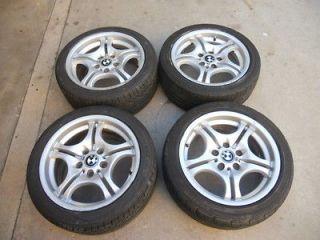 BMW M3 E36 E46 323 325 330 17 Inch 17 OEM Alloy Wheels Rims Tires