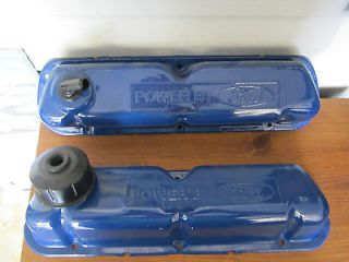 1970 mustang 351 windsor valve covers with oil filler cap