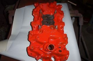 Newly listed CHEVY 348 409 ENGINE INTAKE MANIFOLD 4 BARREL NUMBER IS