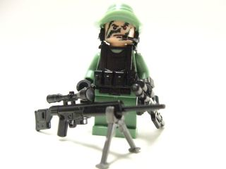 Lego custom   Marine Navy Seal Delta trooper Army Soldier SAND GREEN