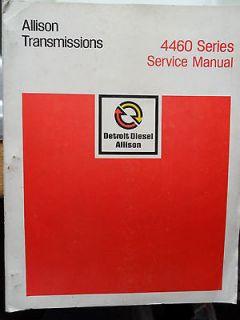 ALLISON TRANSMISSIONS 4460 POWERSHIFT MANUAL AUTOMATIC MACK LEYLAND