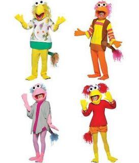 Kids TV Show Jim Hensons Fraggle Rock Character Puppet Pal Costume