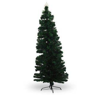 Lit Multi Color LED Fiberoptic Artificial Christmas Tree Bright Lights