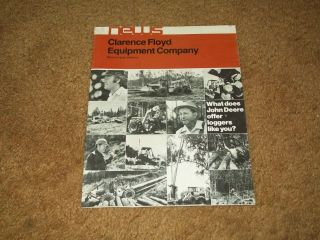 John Deere Forestry Logging Equipment Brochure Clarence Floyd