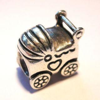AUTHENTIC PANDORA Sterling Silver PRAM Charm 790346