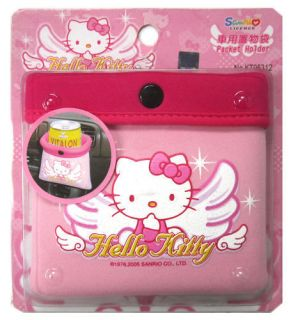 Sanrio HELLO KITTY Car Vehicle Drink Cup Bottle Holder