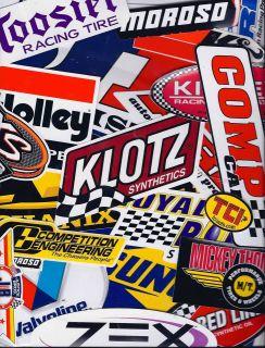 Racing Decals Sticker Set 25+ Grab Bag New for Tool Box Garage Mancave