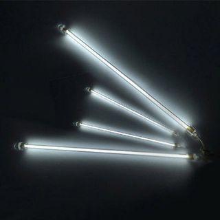 White 4 Piece CCFL Cold Cathode Undercar Underbody Lamps Car Neon Kit