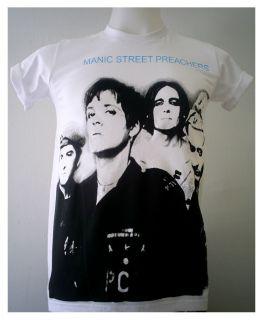 Alternative rock band The Manics PUNK Manic Street Preachers T Shirt S