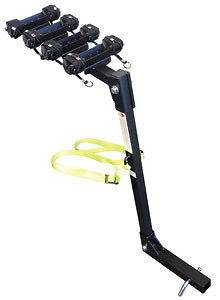 BIKE TRAILER HITCH MOUNTED MOUNT CARRIER RACK FOR CAR TRUCK VEHICLE
