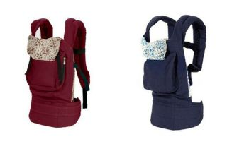 New Cotton Front & Back Baby Newborn Carrier Infant Comfort Backpack