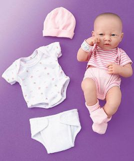LA NEWBORN 14 BABY GIRL REAL LIFE DOLL SET GREAT CHRISTMAS PRESENT
