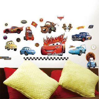 Newly listed New Disney Cars Wall Sticker Nursery Kids Decals Decor