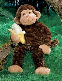 Mambo Monkey 14 Stuffed Animal Banana Gund Plush Toy