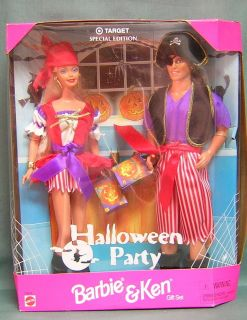 BARBIE   BARBIE AND KEN GIFT SET  HALLOWEEN PARTY  TARGET EXCLUSIVE