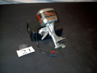 Vintage Yego Turbo Battery Operated Outboard Boat Motor