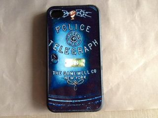 Silicone Rubber Vintage Call Box Alarm Box police Officer Patrol
