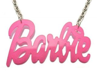 ACRYLIC BARBIE NICKI MINAJ PENDANT + 20 NECKLACE CHAIN