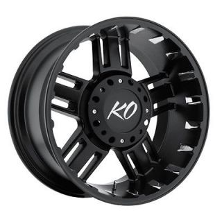 22 Black REV Beast Wheels GMC Chevy Ford Truck 2500 3500 F 250 F 350