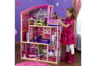Newly listed Kidkraft Wooden Dollhouse Modern Dream Doll House 65256