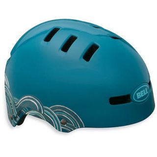 Bell Faction Helmet Kids Youth Skate BMX Bike Scooter Helmet Blue Teal
