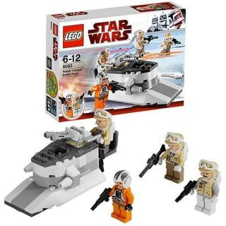 LEGO Star Wars 8083 Rebel Trooper Battle Pack +FREE Pic