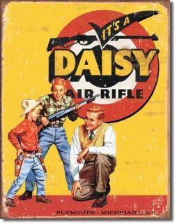 Nostalgic Tin Metal Sign Daisy BB GUN Air Rifles NEW