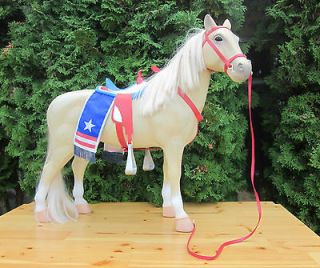 USA BATTAT HORSE FIGURE FIT AMERICAN GIRL DOLL & OUR GENERATION DOLLS