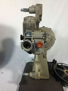 1940s/50s BELL & HOWELL MODEL 173 16 MM PROJECTOR W/ CASE WORKS