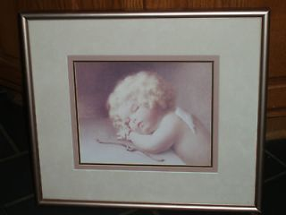 Bessie Pease Gutmann Framed Print of Cupid Asleep