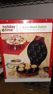 Newly listed HOLIDAY TIME MINI DONUT MAKER