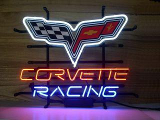 New Chevrolet Chevy Corvette Neon Light Sign Art Gift Pub Home Beer