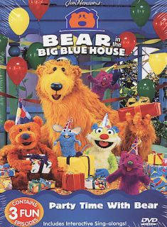 Bear in the Big Blue House   Party Time With Bear (2
