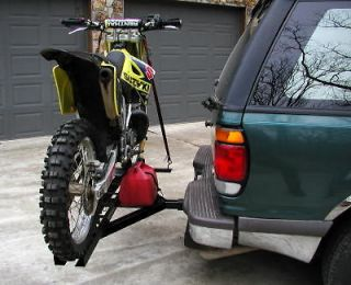 DIRT BIKE MOTORCYCLE CARRIER Trailer Hauler Hitch Rack Cargo rmx crf