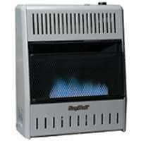 BLUE FLAME NATURAL OR PROPANE GAS HEATER 20K VENT FREE