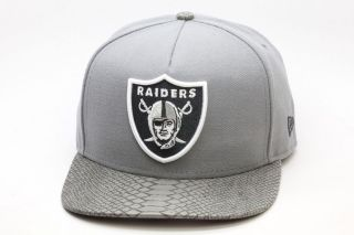 Oakland Raiders Snake Skin Strapback Hat Limited Edition Snapback NFL