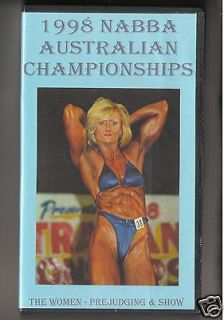 bodybuilding movies in VHS Tapes