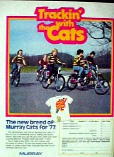 77 Murray (CATS) Moto Cross Bicycles Boys BMX Bike Ad