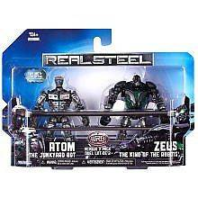Real Steel Versus 2 Packs Assortment 1   Atom vs. Zeus