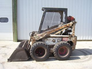 Bobcat 600 skidsteer loader skid steer bucket 610