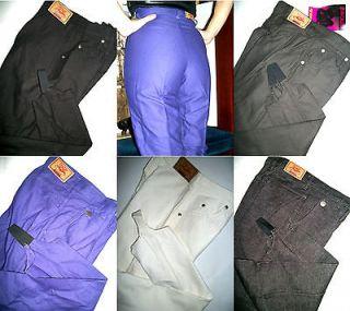 Panhandle Slim Womens Stirrup Jeans Pant Black White Charcoal Purple