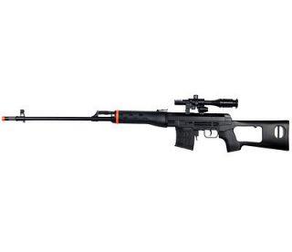 M677B DRAGUNOV SVD ROMANIAN PSL AIRSOFT SNIPER RIFLE SPRING GUN w/ BB