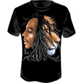 bob marley lion shirt
